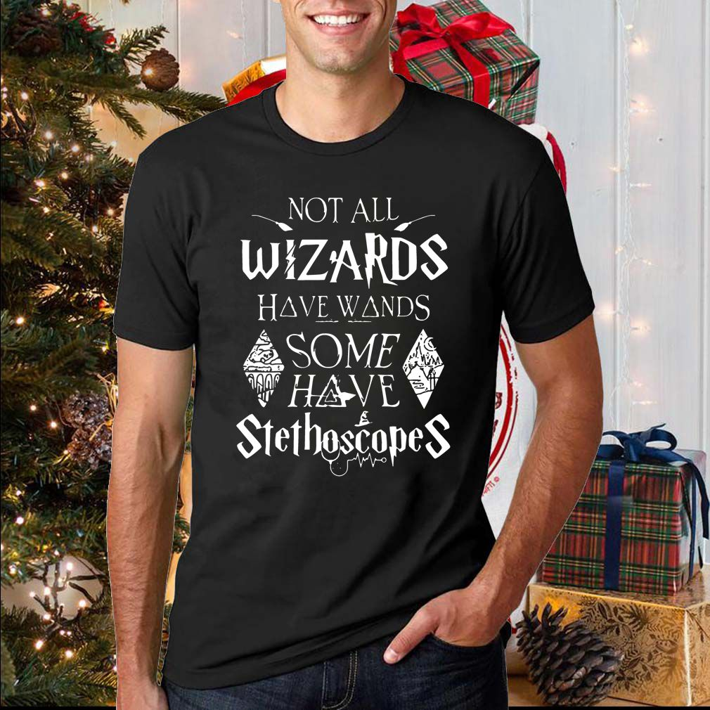 Harry Potter not all wizards have wands some have stethoscopes sweatshirt