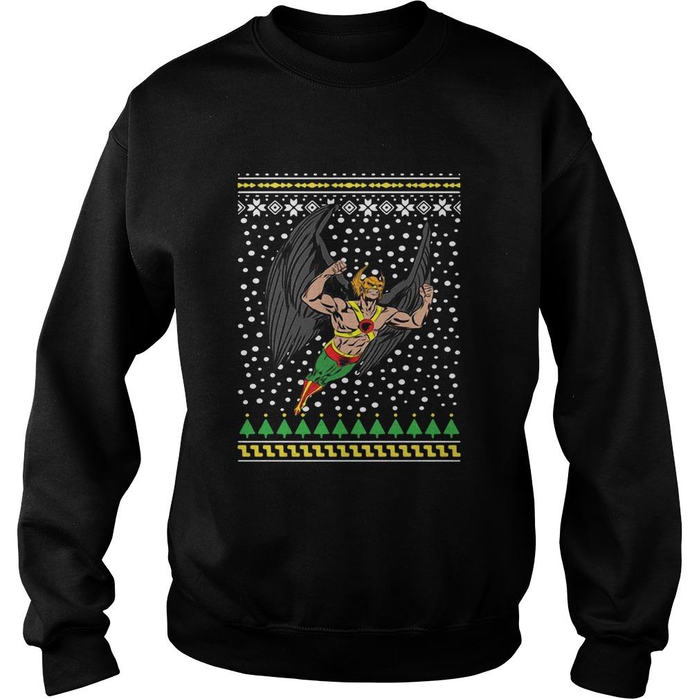 Hawkman Ugly Christmas  Sweatshirt