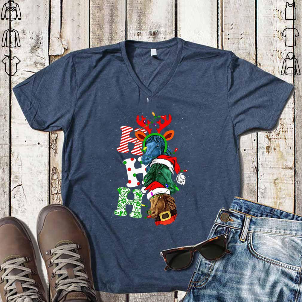 Ho Ho Ho Santa Horse Christmas shirt
