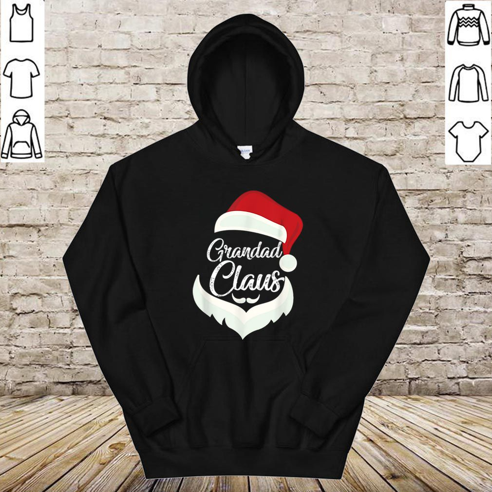 Hot Grandad Claus Christmas Pajamas Santa Costume Gift shirt