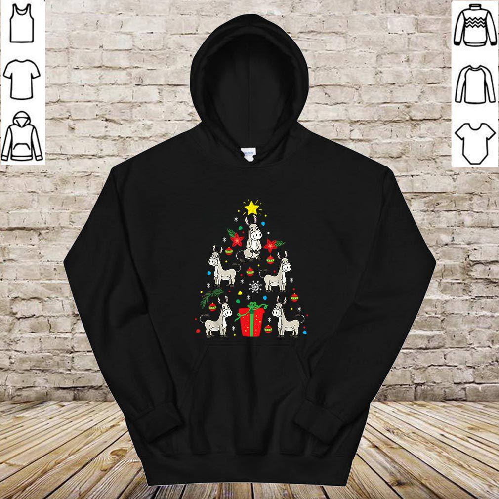 Hot Mule Donkey Christmas Ornament Tree Funny Gift shirt