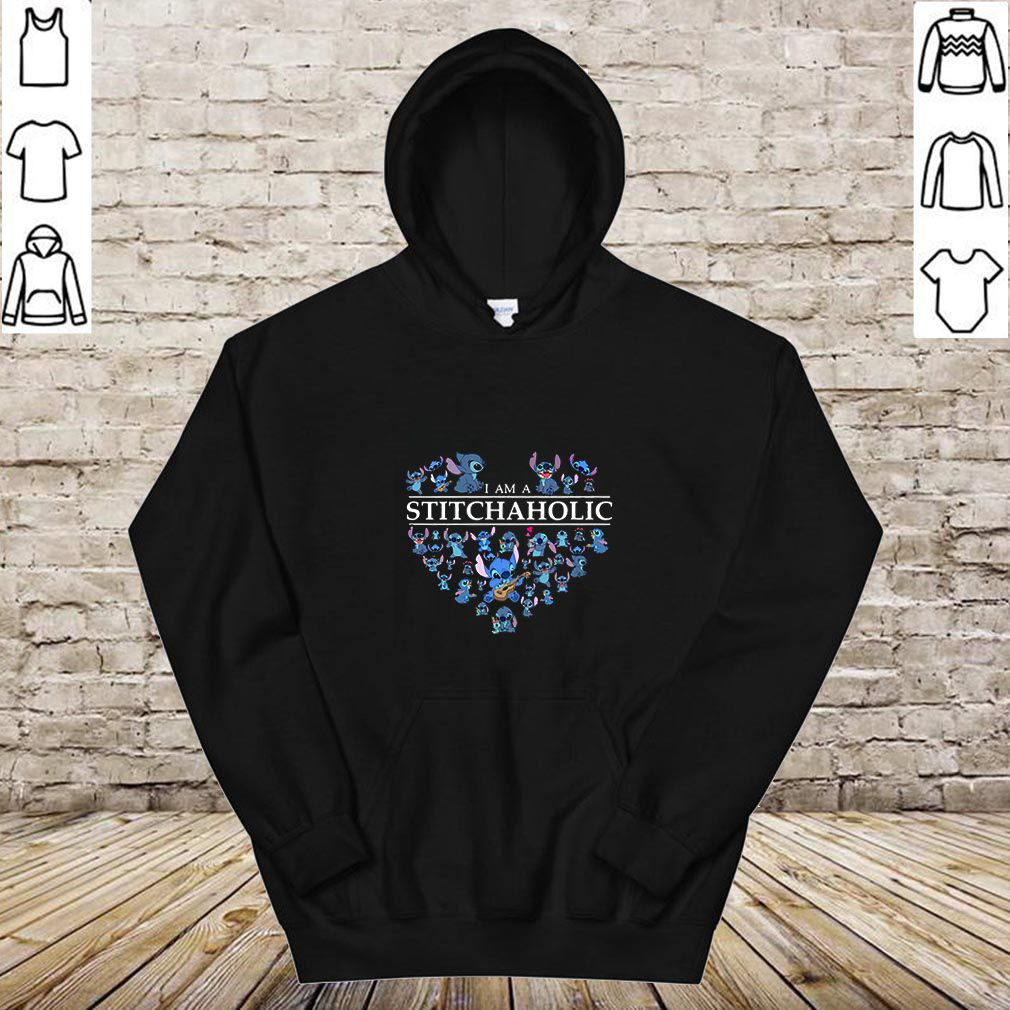 I Am A Stitch Aholic shirt