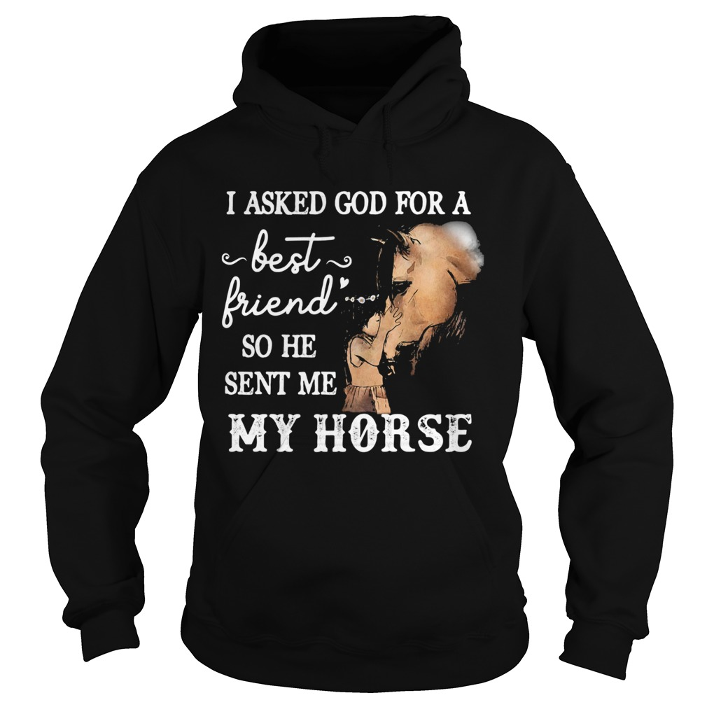 I asked god for a best friend so he sent me my horse  Hoodie