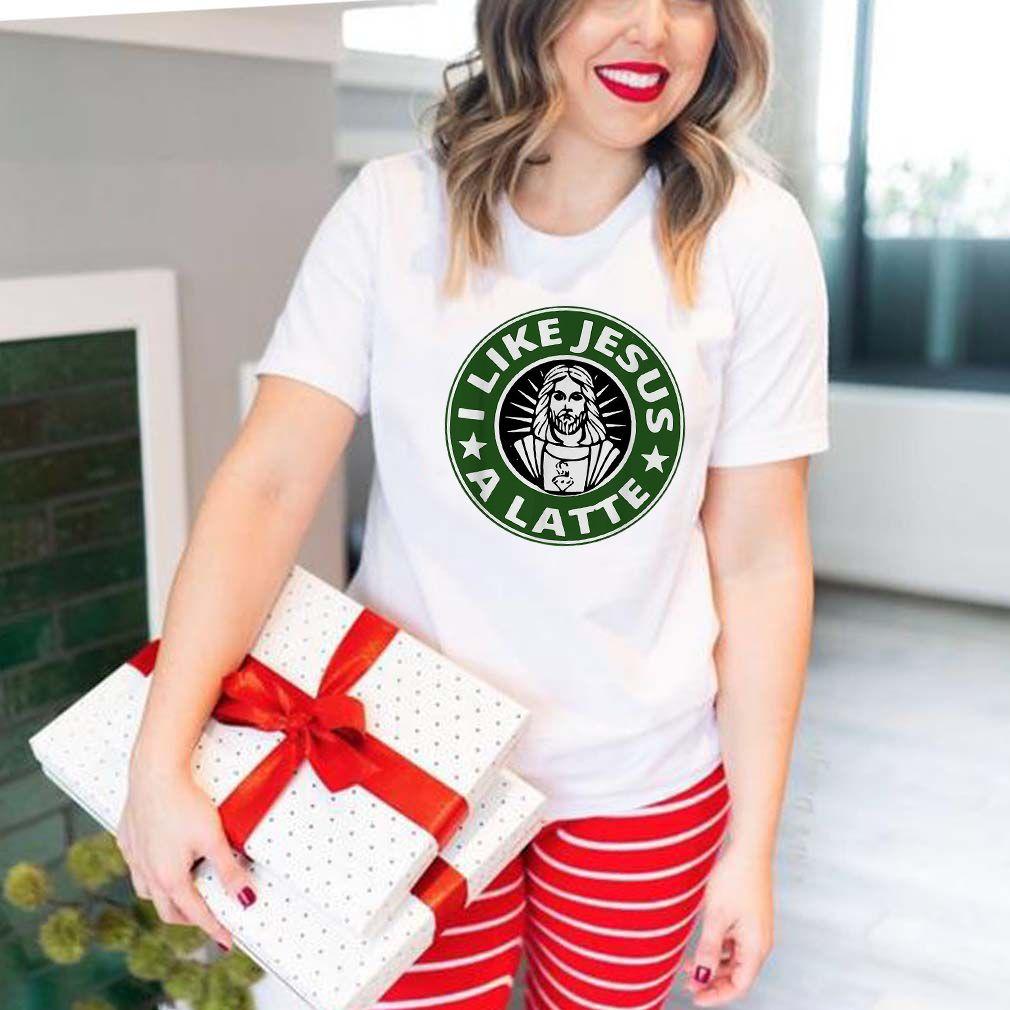I like Jesus a latte shirt