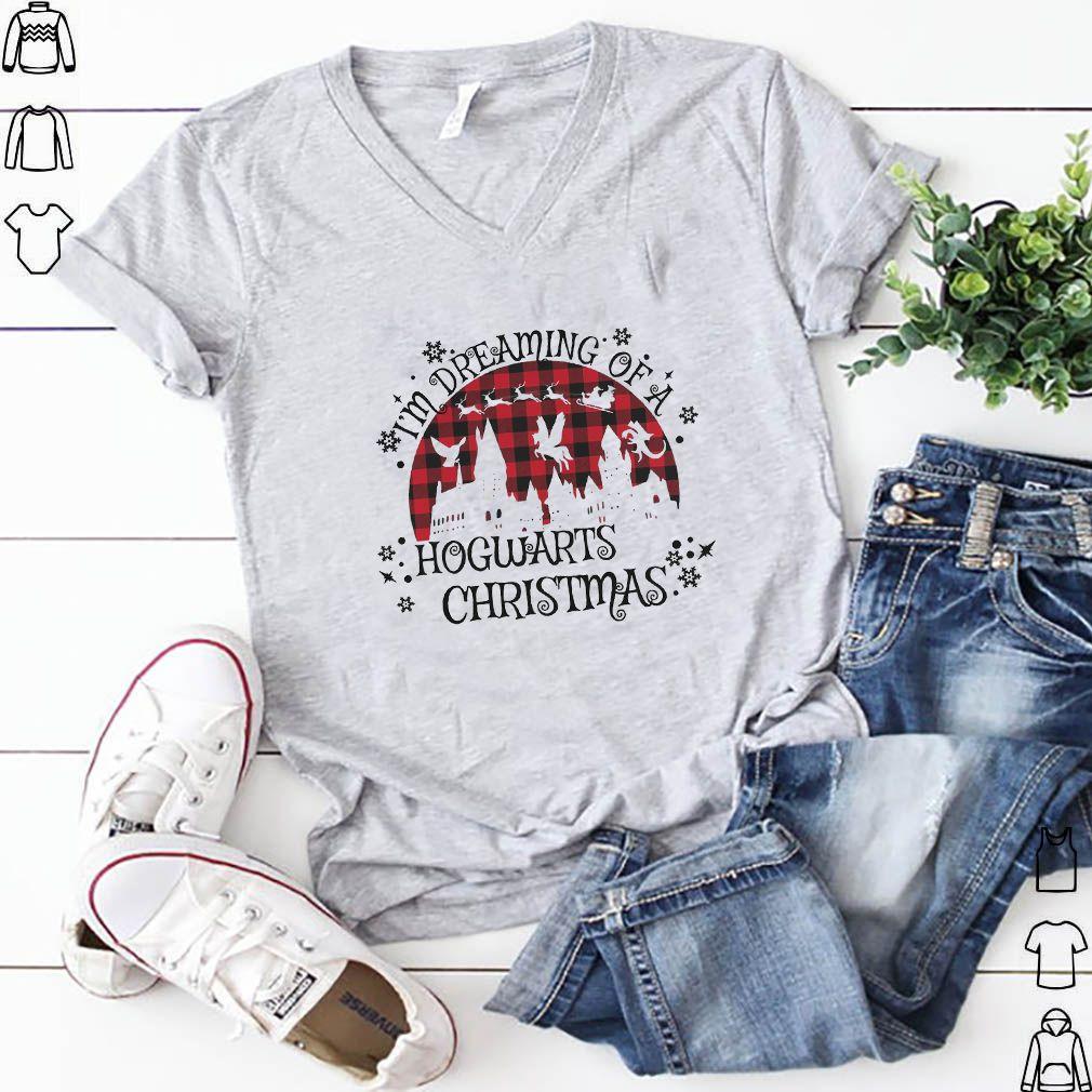 I'm Dreaming Of A Hogwarts Christmas Shirt