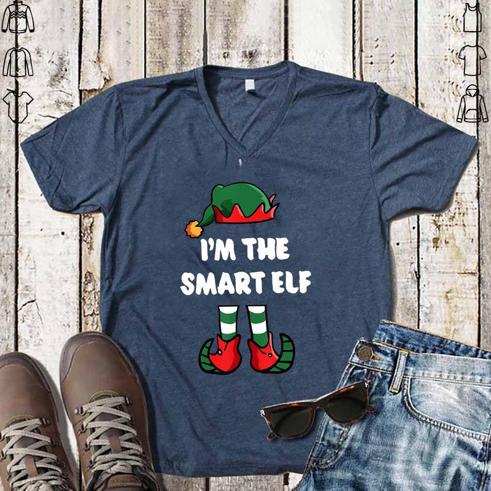 I'm The Smart Elf Christmas Family Costume - T-shirt
