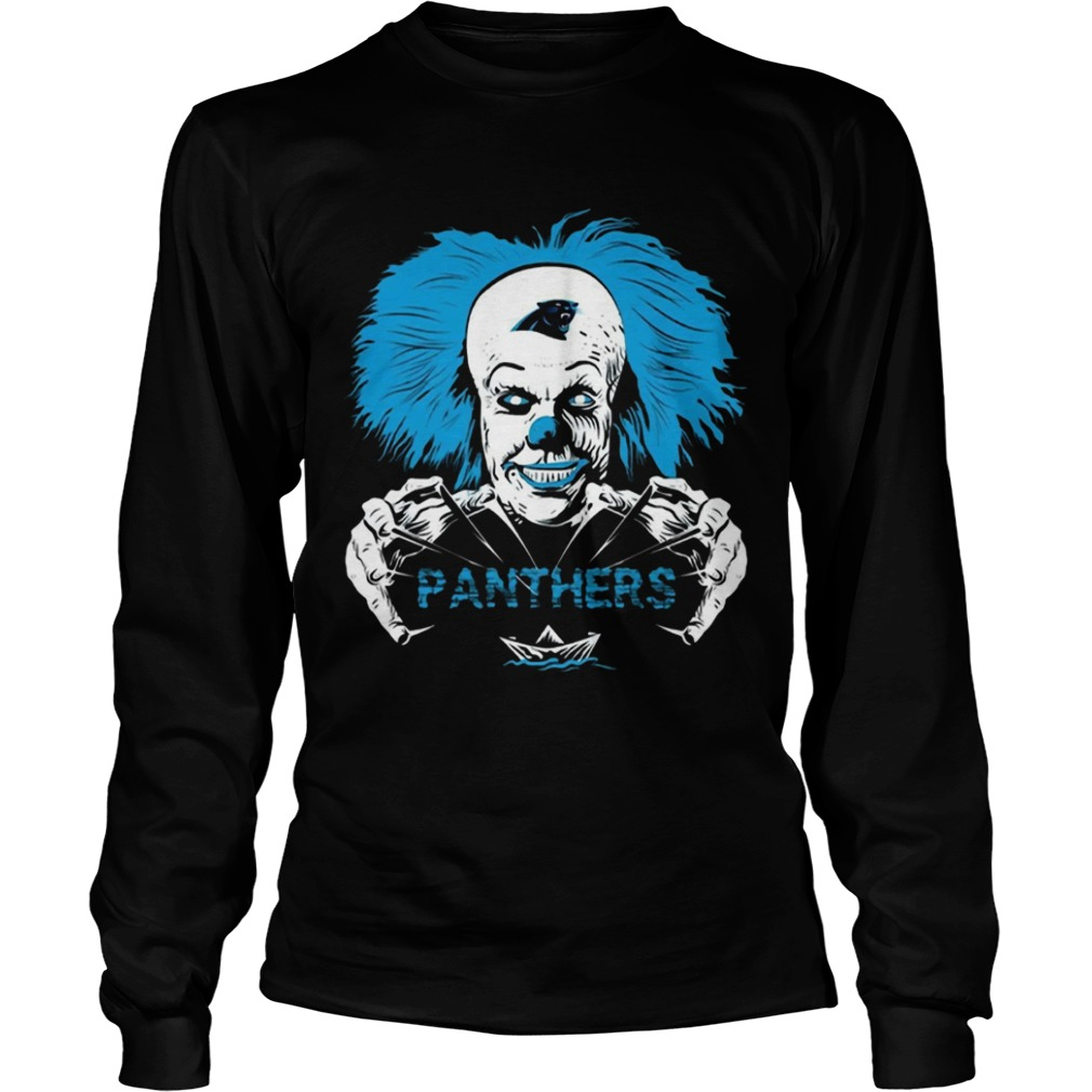 It Horror Movies Carolina Panthers  LongSleeve