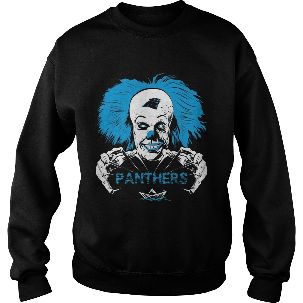 It Horror Movies Carolina Panthers  Sweatshirt