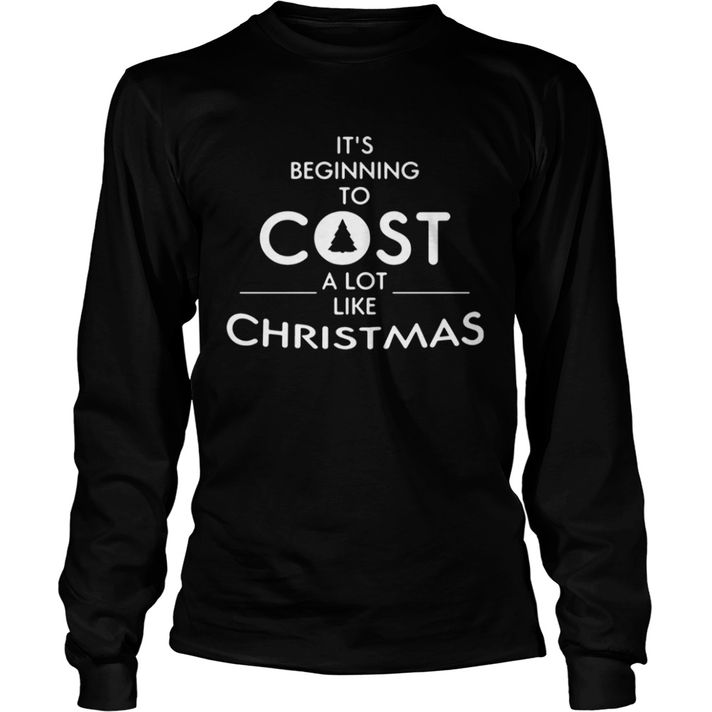Its beginning to cost a lot like Christmas Xmas  LongSleeve