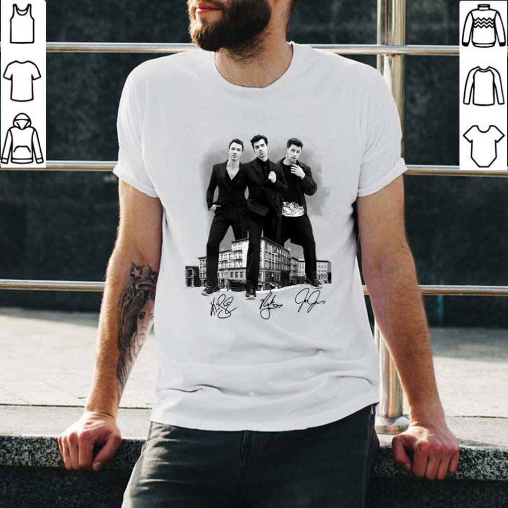 Jonas Brother The Billboard Cover Shoot shirt