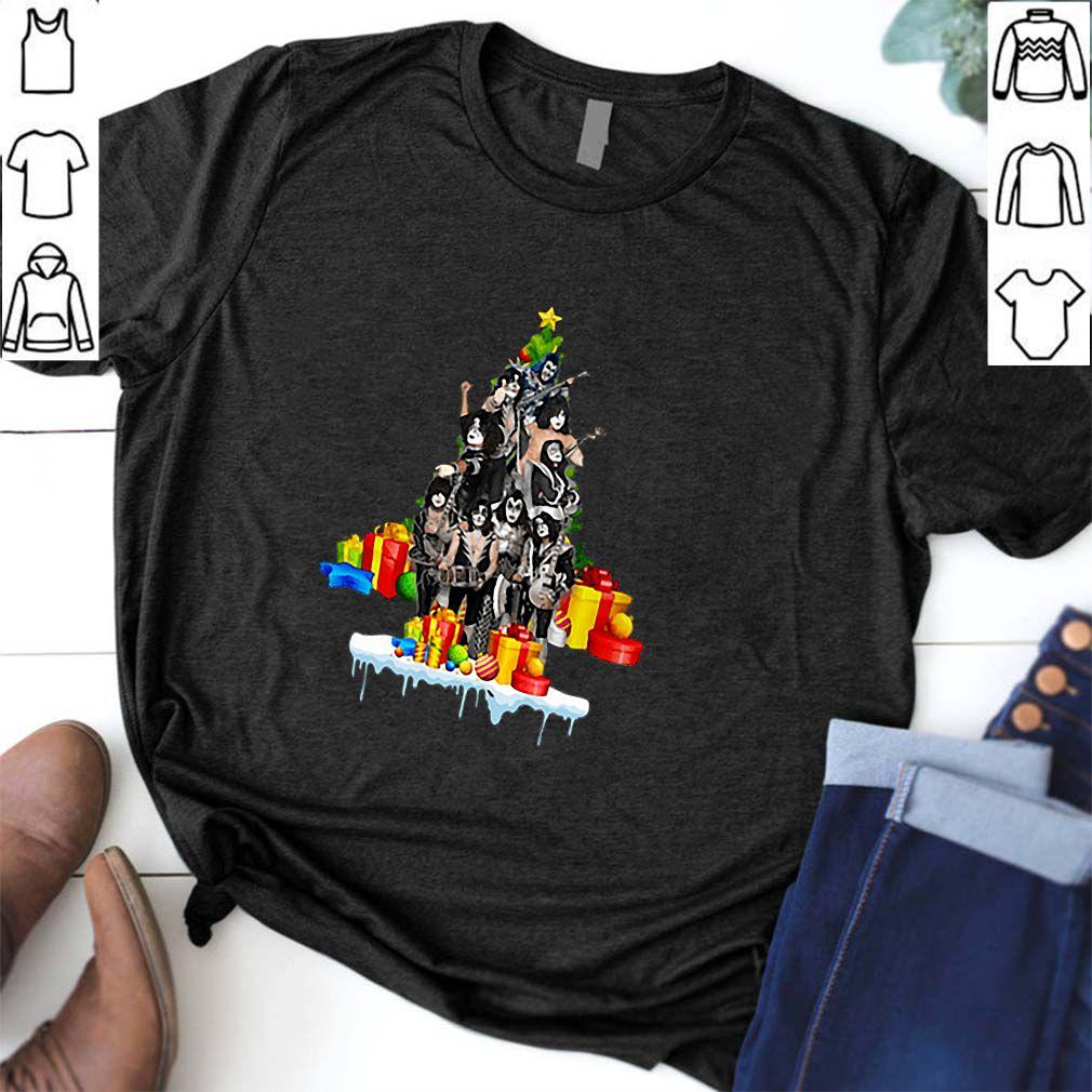 Kiss Christmas Tree Gift shirt