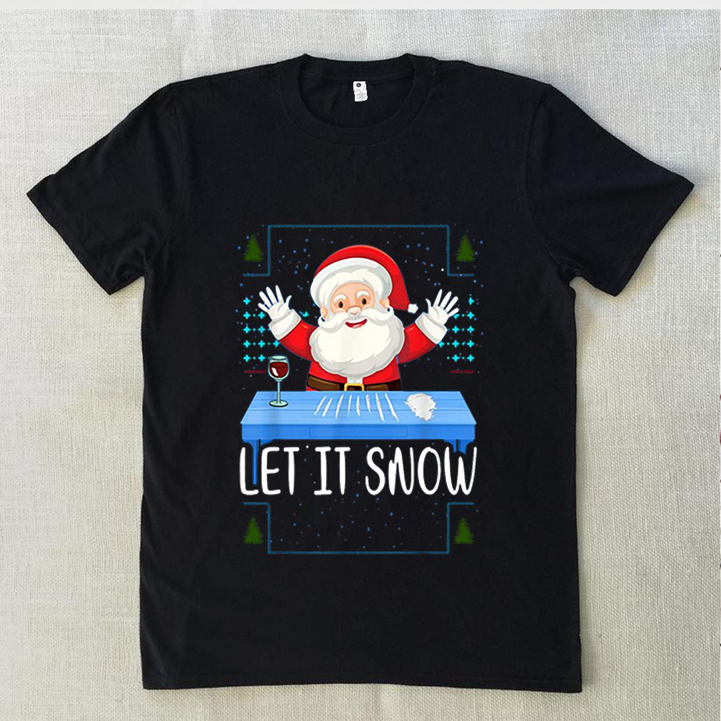 Let It Snow Santa Cocaine sweater