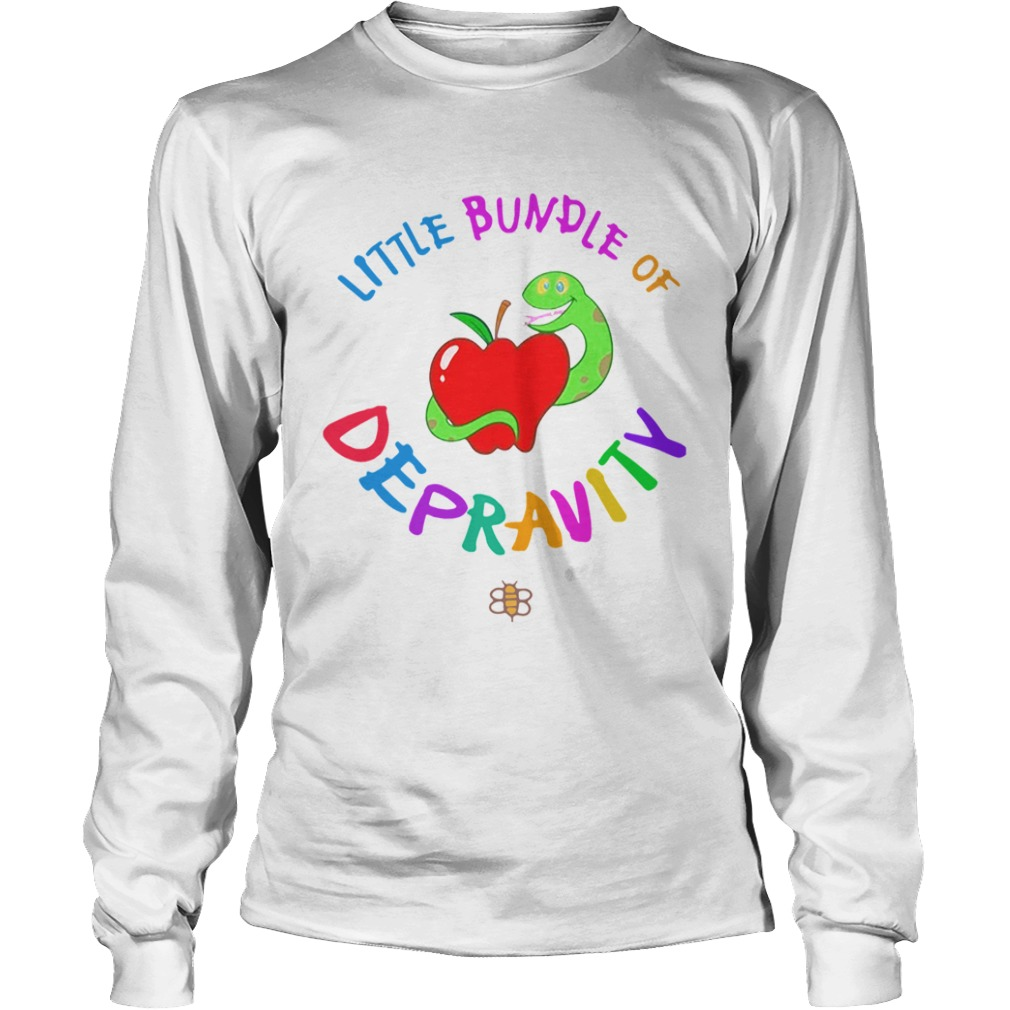 Little Bundle Of Depravity  LongSleeve