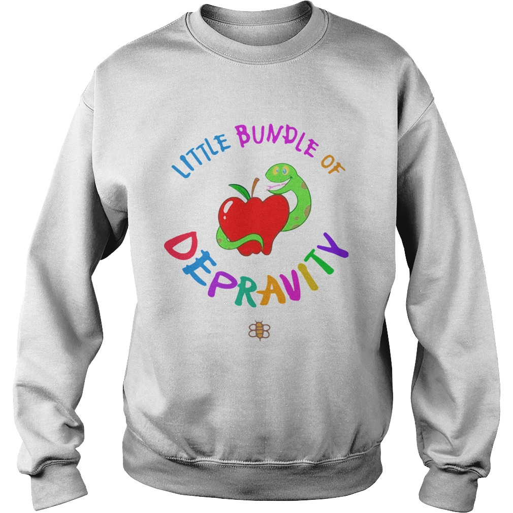 Little Bundle Of Depravity  Sweatshirt