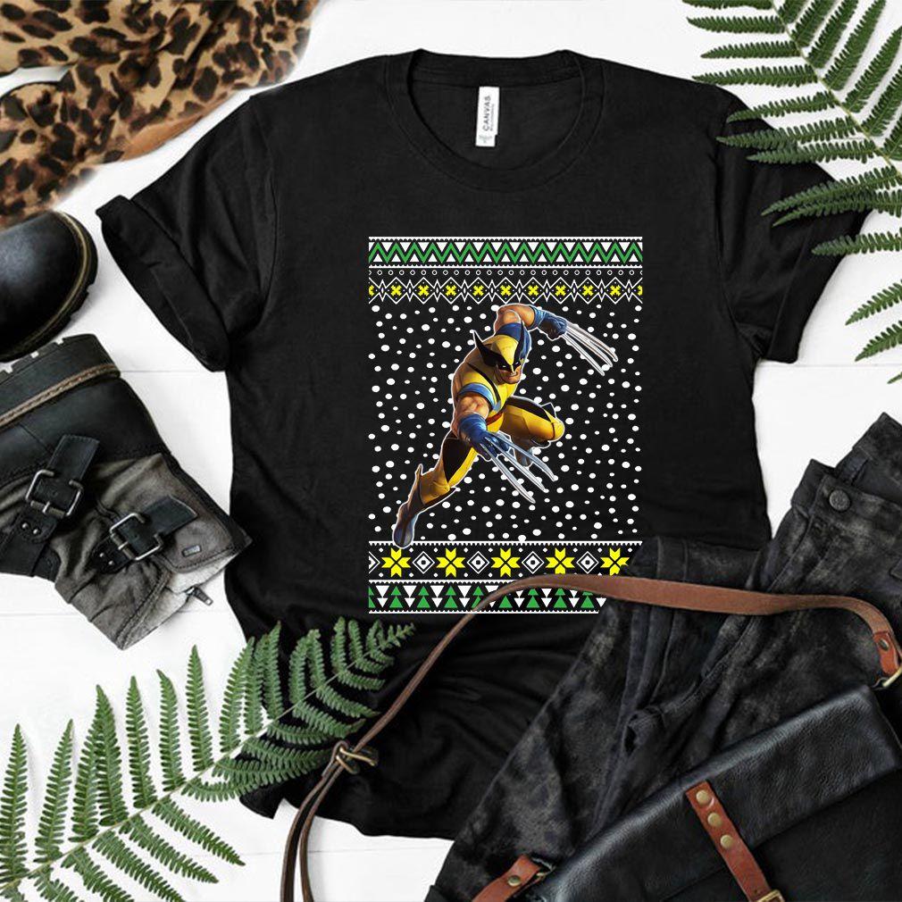 Logan Wolverine Ugly Christmas Shirt