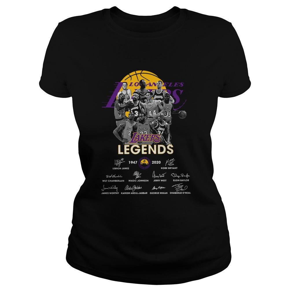 Los Angeles Lakers Legends 19472020 Signatures  Classic Ladies