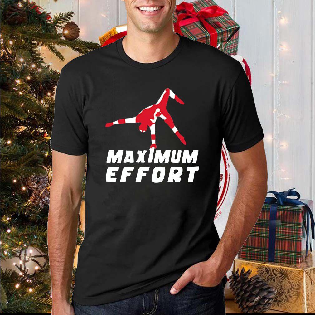 Maximum effort Jumpman Air Jordan 2020 T-Shirt
