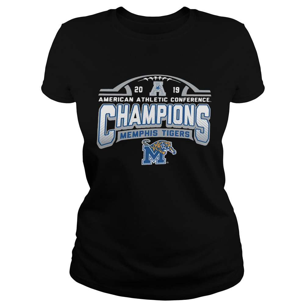 Memphis Tigers American Athletic Conference 2019 AAC Football Champions  Classic Ladies