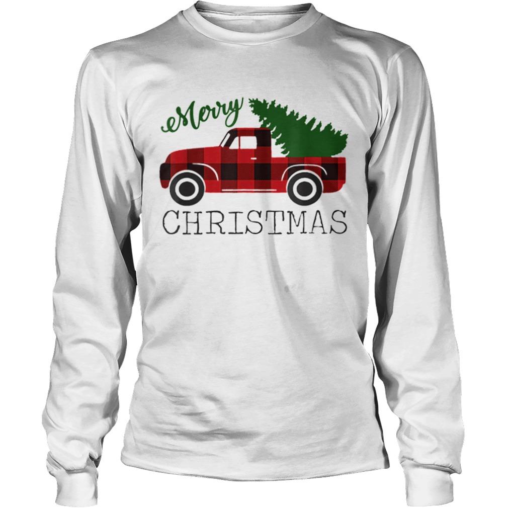 Merry Christmas Red Truck  LongSleeve