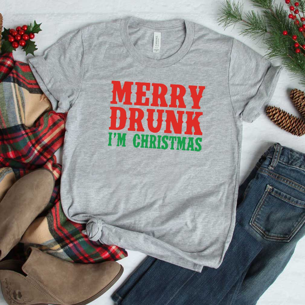 Merry Drunk I'm Christmas 2020 T-Shirt