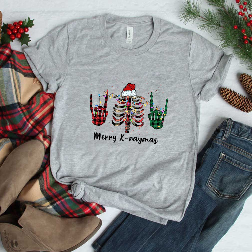 Merry X-raymas Christmas X-ray T-