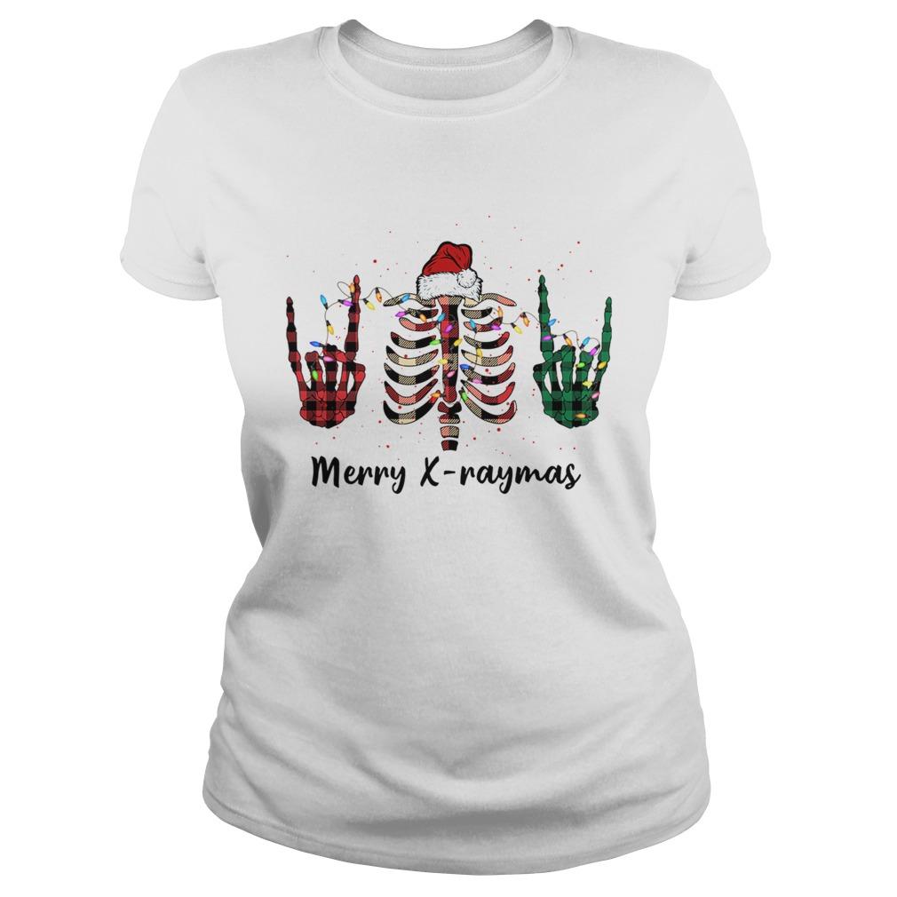 Merry Xraymas Christmas Xray  Classic Ladies