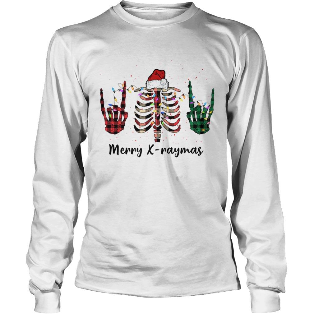 Merry Xraymas Christmas Xray  LongSleeve