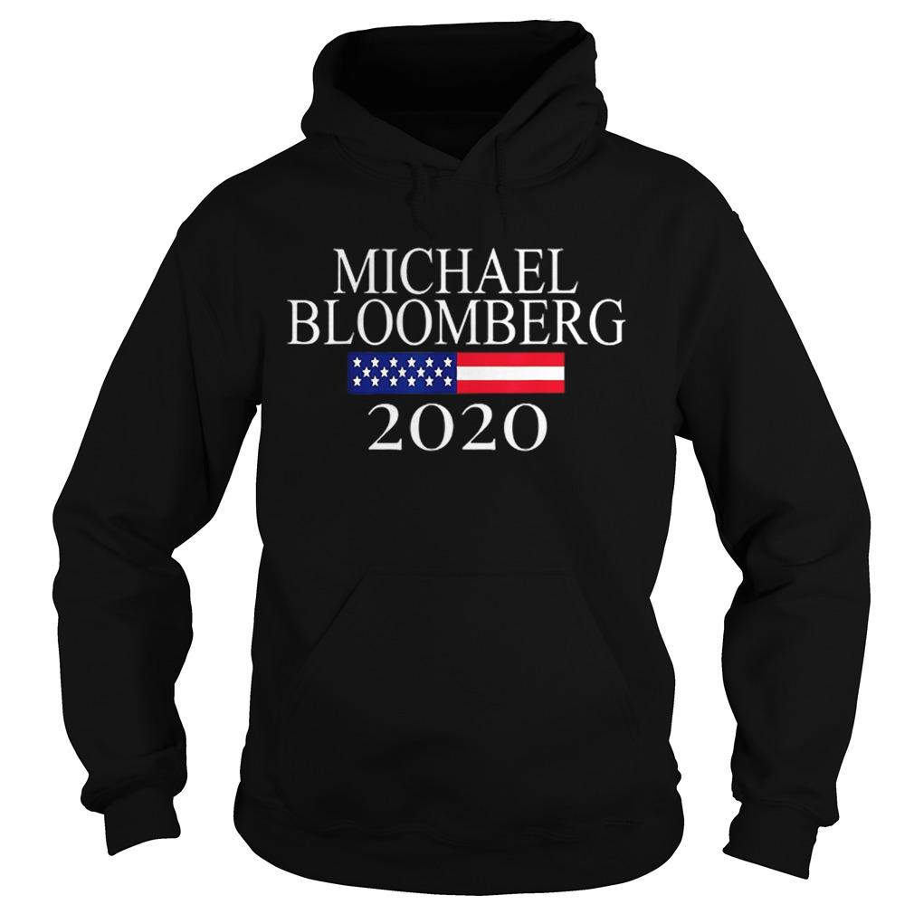 Michael Bloomberg US President 2020 American Flag  Hoodie