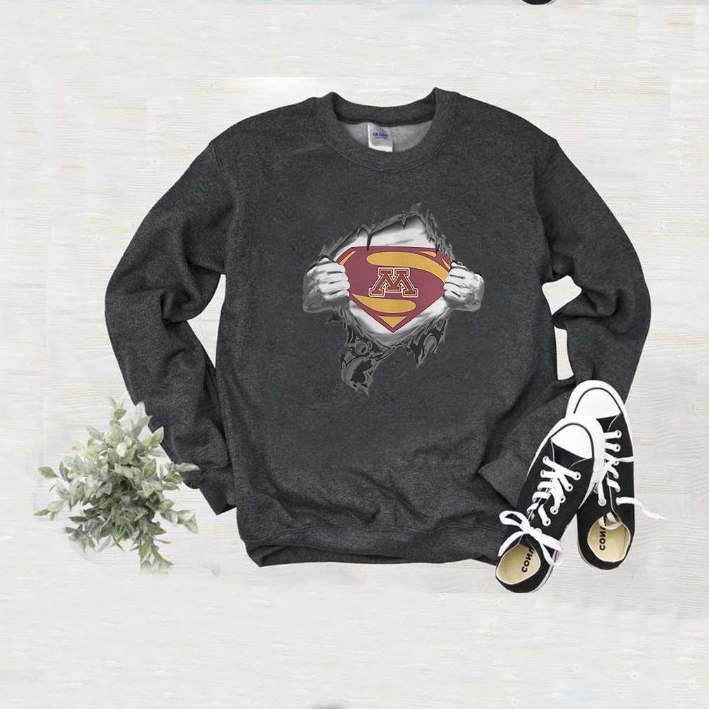 Minnesota Golden Gopher inside me Superman T-Shirt