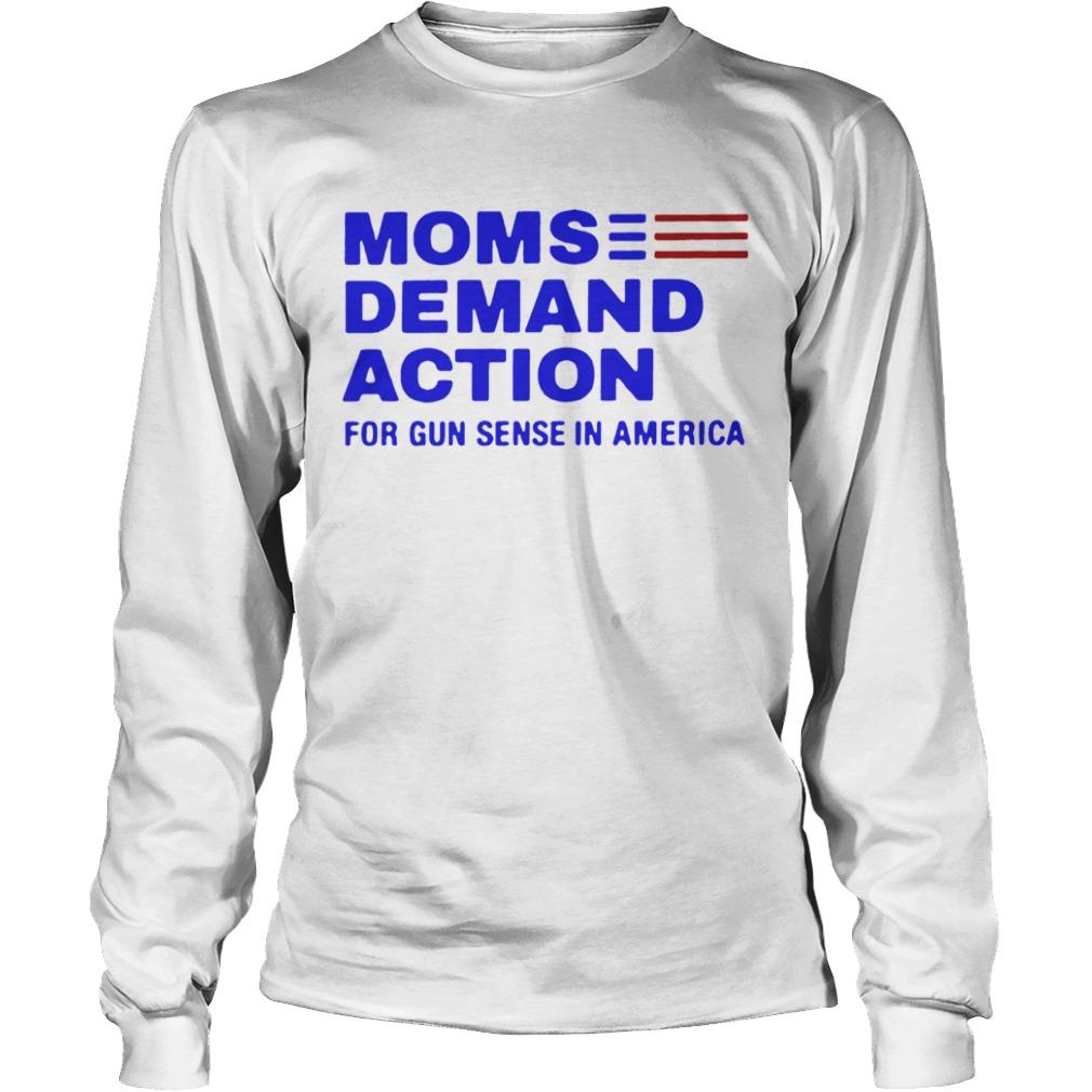 Moms Demand Action White For  LongSleeve