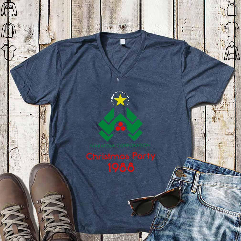 Nakatomi Corporation Christmas Party 1988 shirt