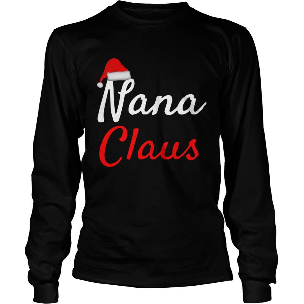Nana Claus Christmas  LongSleeve