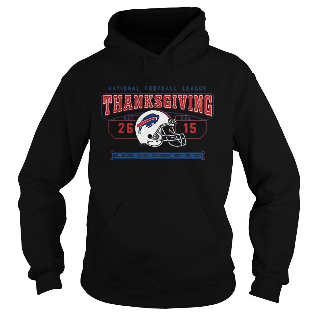 National Football League Thanksgiving Buf Dal 2615  Hoodie