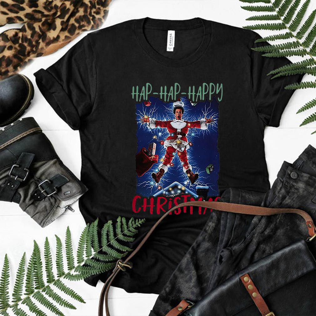 National Lampoon's Hap Hap Happy Christmas shirt