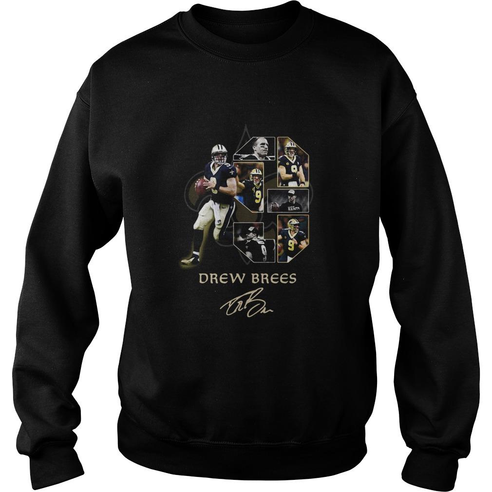 New Orleans Saints Drew Brees Signature  Sweatshirt