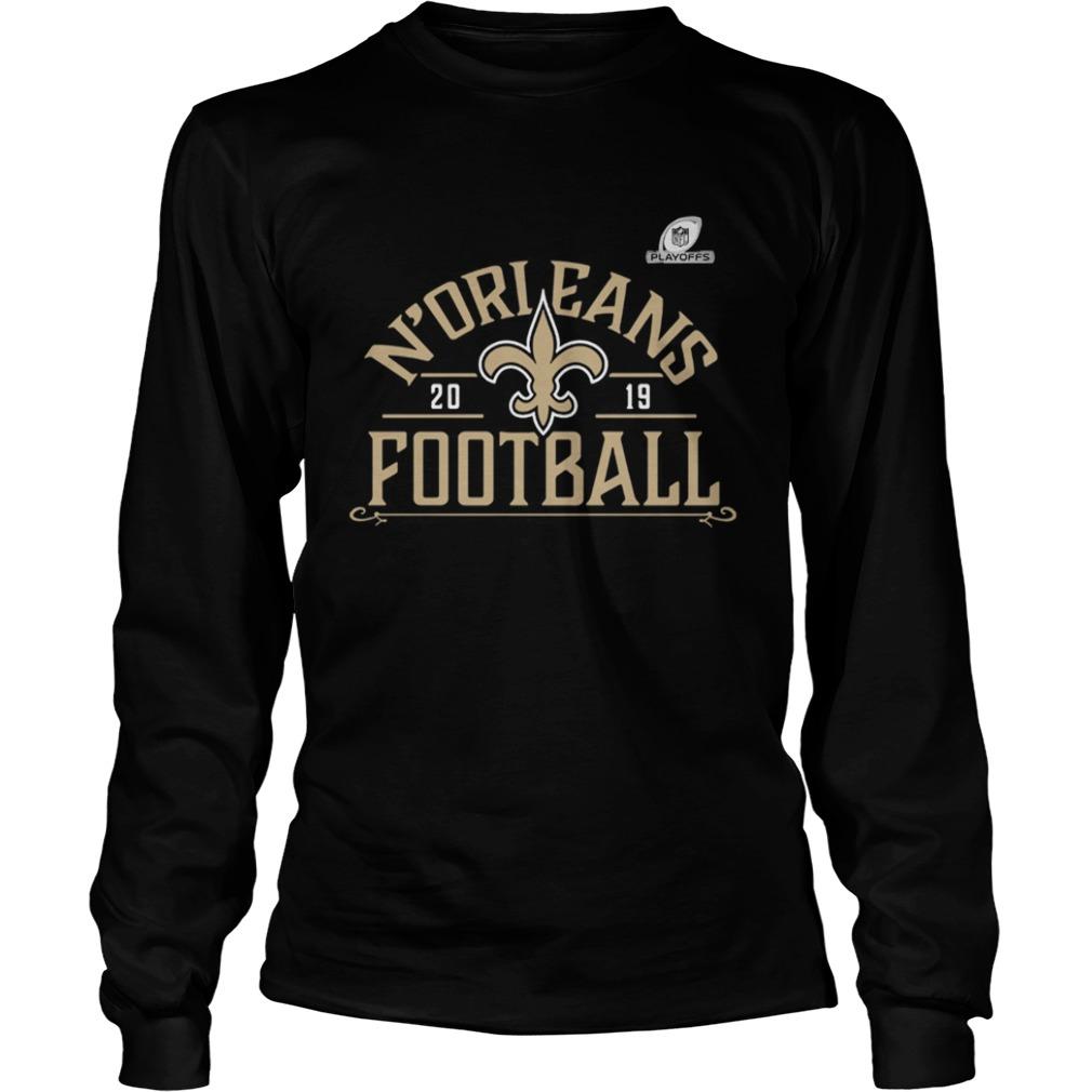 New Orleans Saints Football 2019 NFL Playoffs  LongSleeve