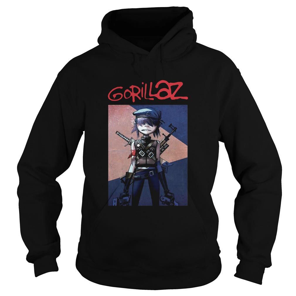 Noodle Gorillaz  Hoodie