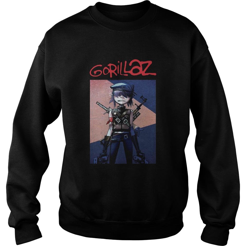 Noodle Gorillaz  Sweatshirt