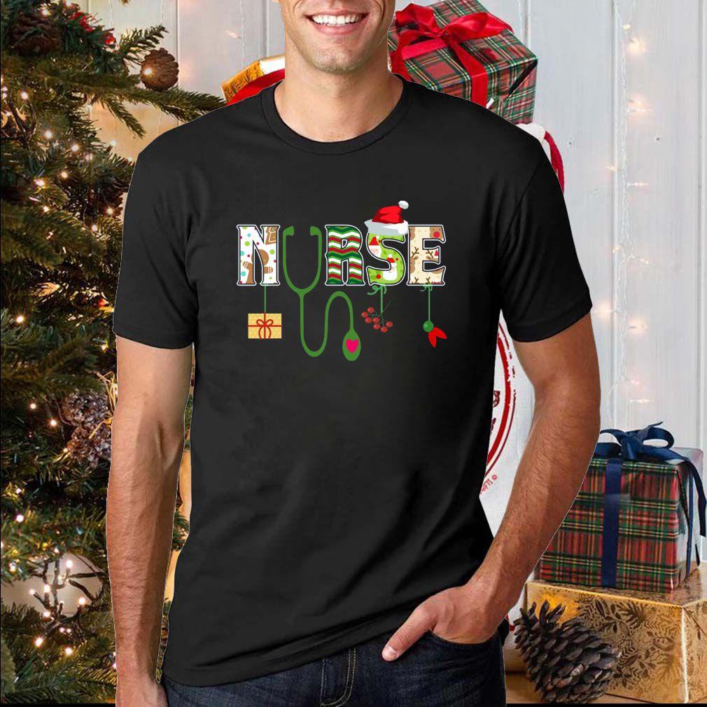 Nurse christmas shirt