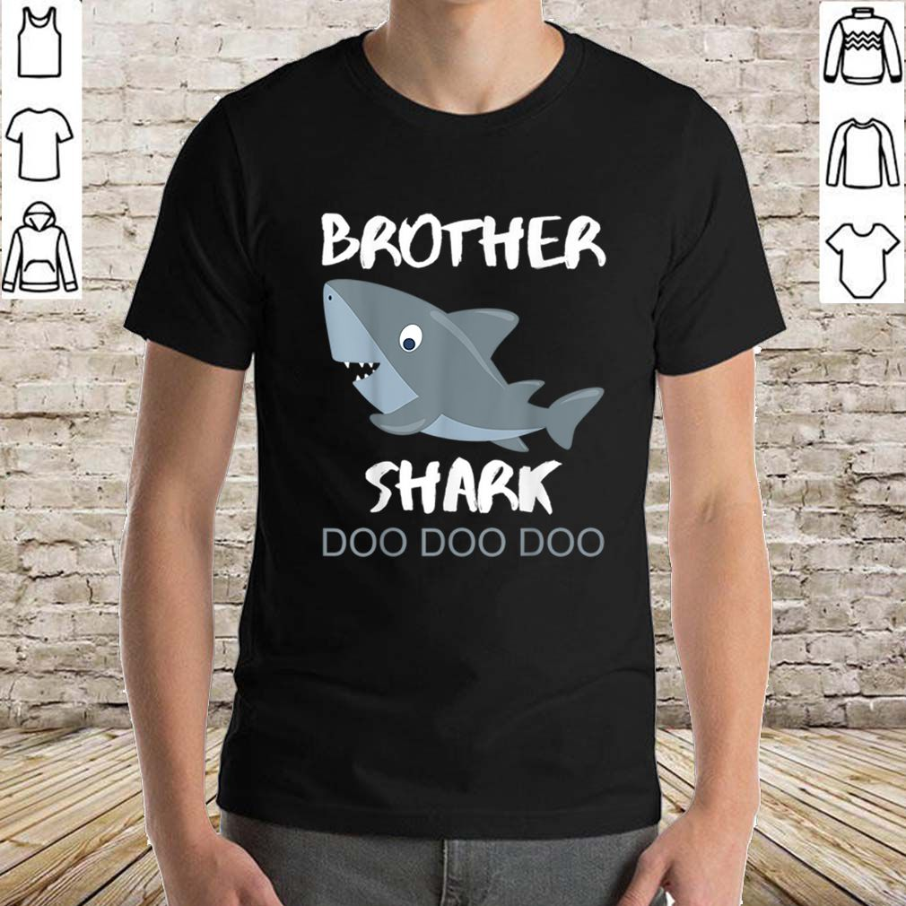 Official Brother Shark Doo Doo Christmas Gift Idea Bro Uncle sweater