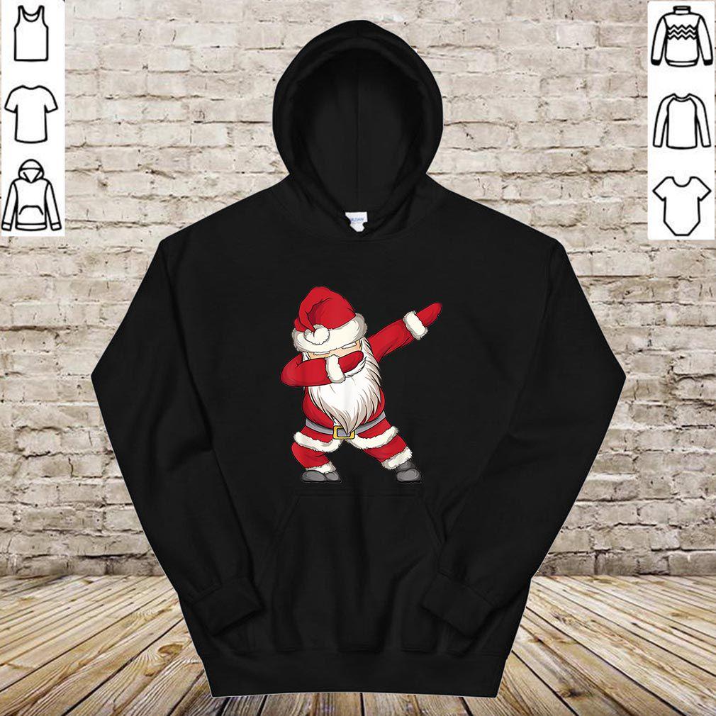 Official Dabbing Santa Claus Christmas Kids Boys Girls Dab Xmas Gifts shirt