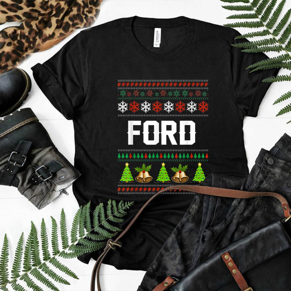 Official FORD Christmas Family Ugly Christmas shirt