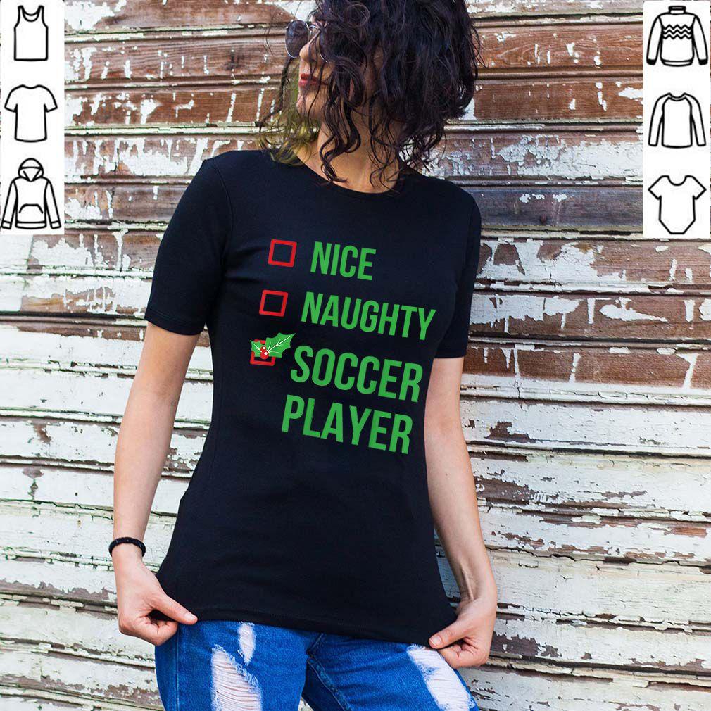 Official Soccer Player Funny Pajama Christmas Gift shirt