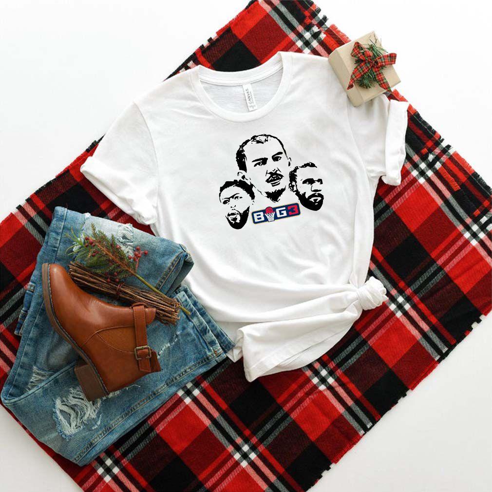 Official the big 3 shirt Jersey Crewneck Shirt
