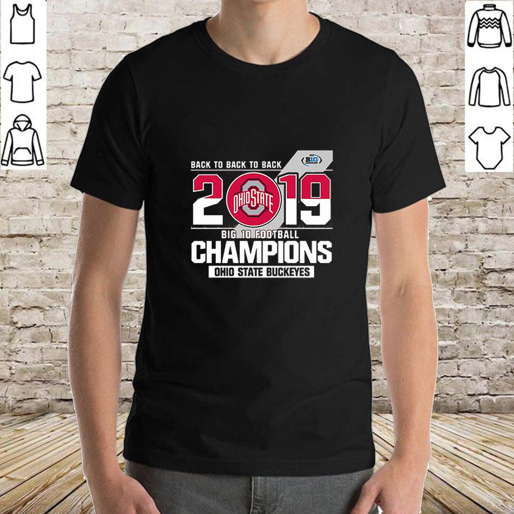 Ohio State Buckeyes back to back 2019 big 10 football Champions sweater