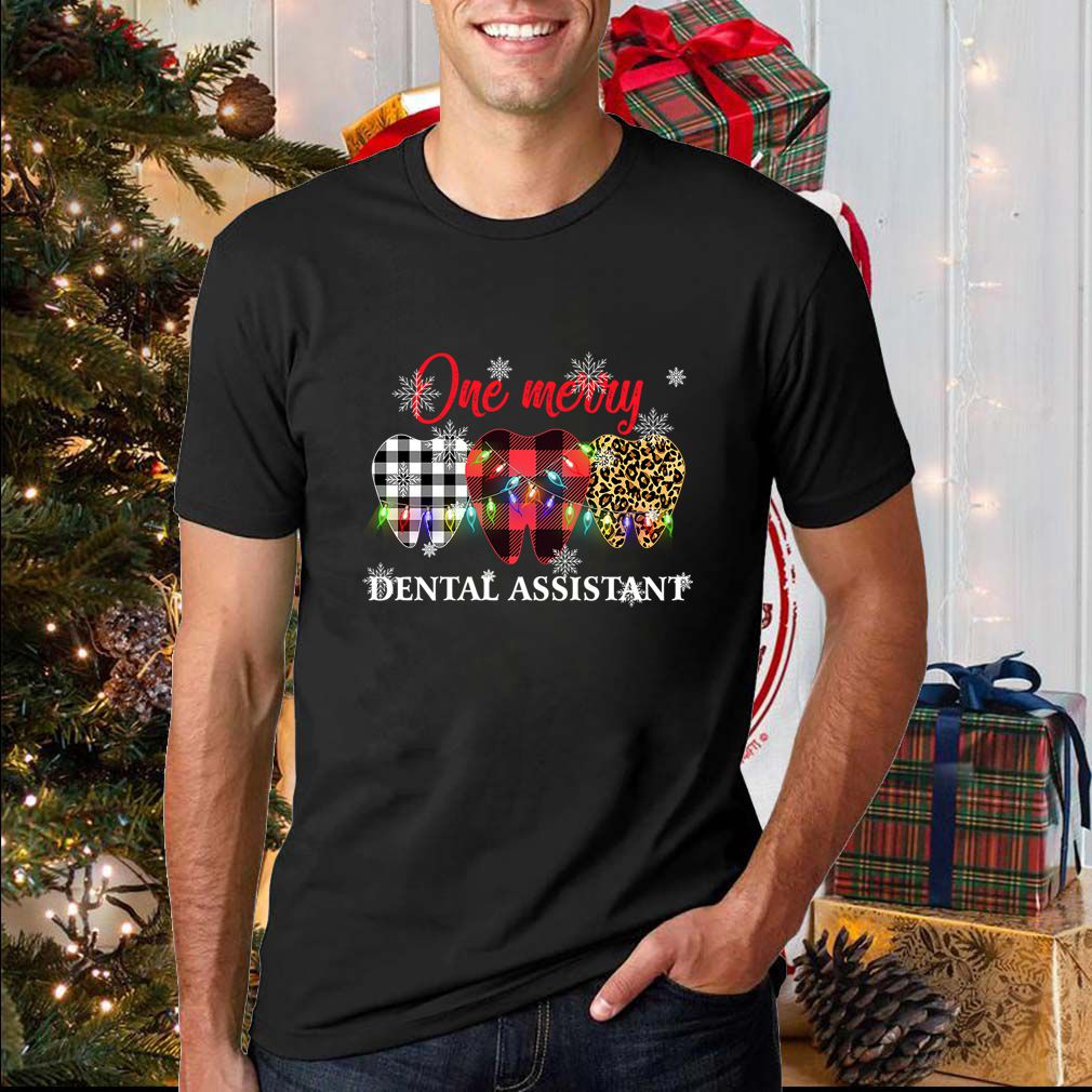 One Merry Dental Assistant T-Shirts