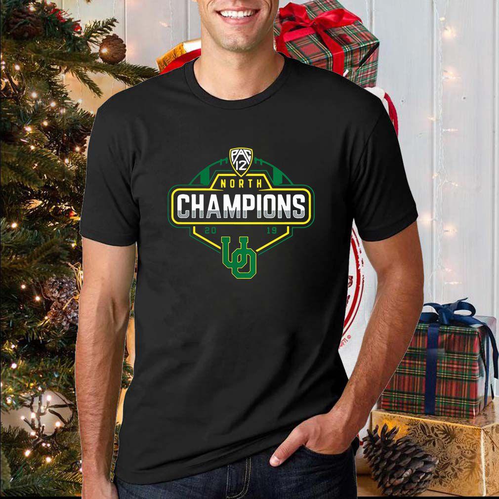 Oregon Ducks 2019 PAC-12 North Football Division Champions T Shirt