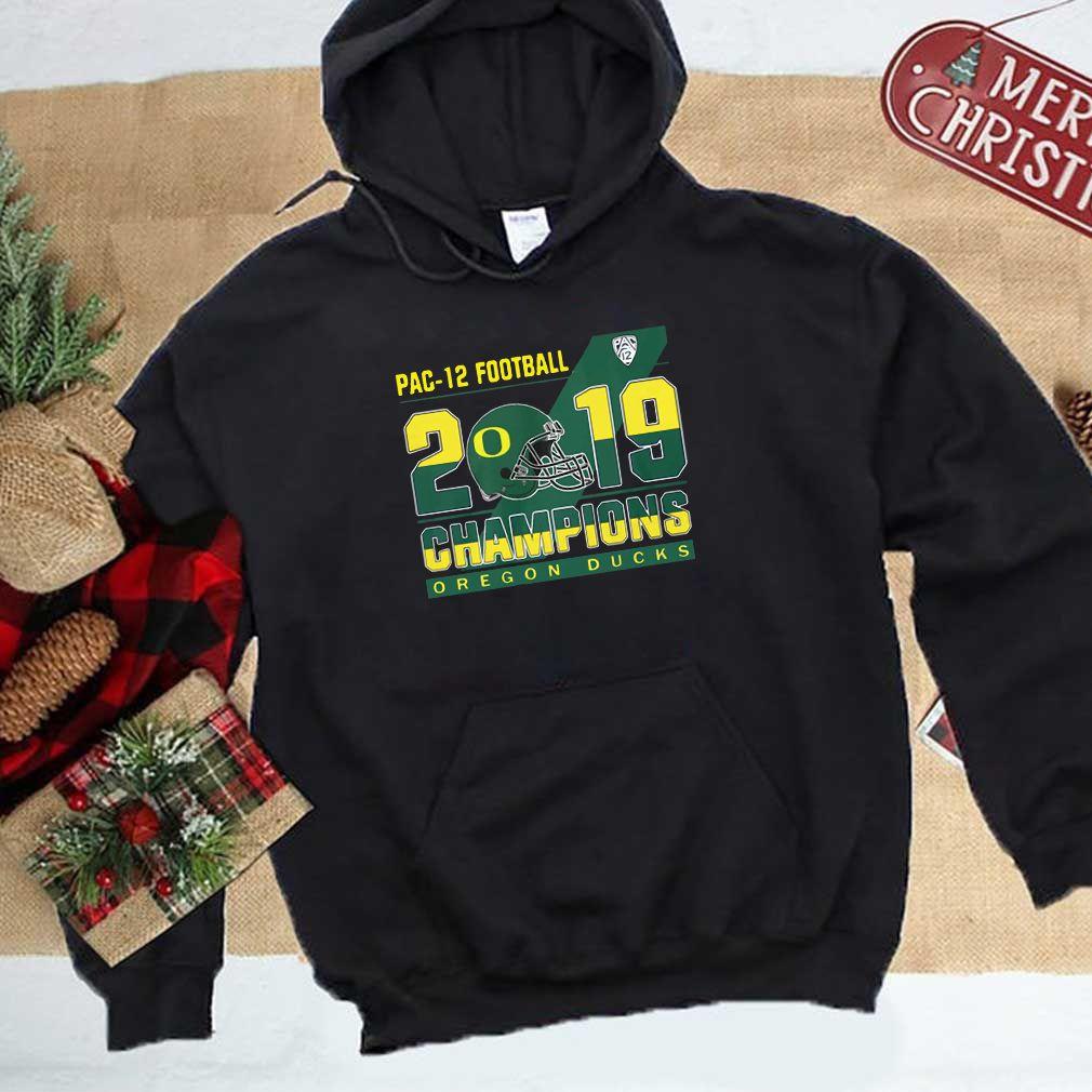 Oregon Ducks pac 12 football 2019 champions shirt