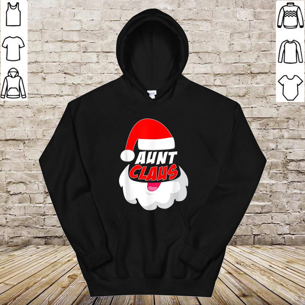 Original Aunt Clause Christmas Xmas shirt