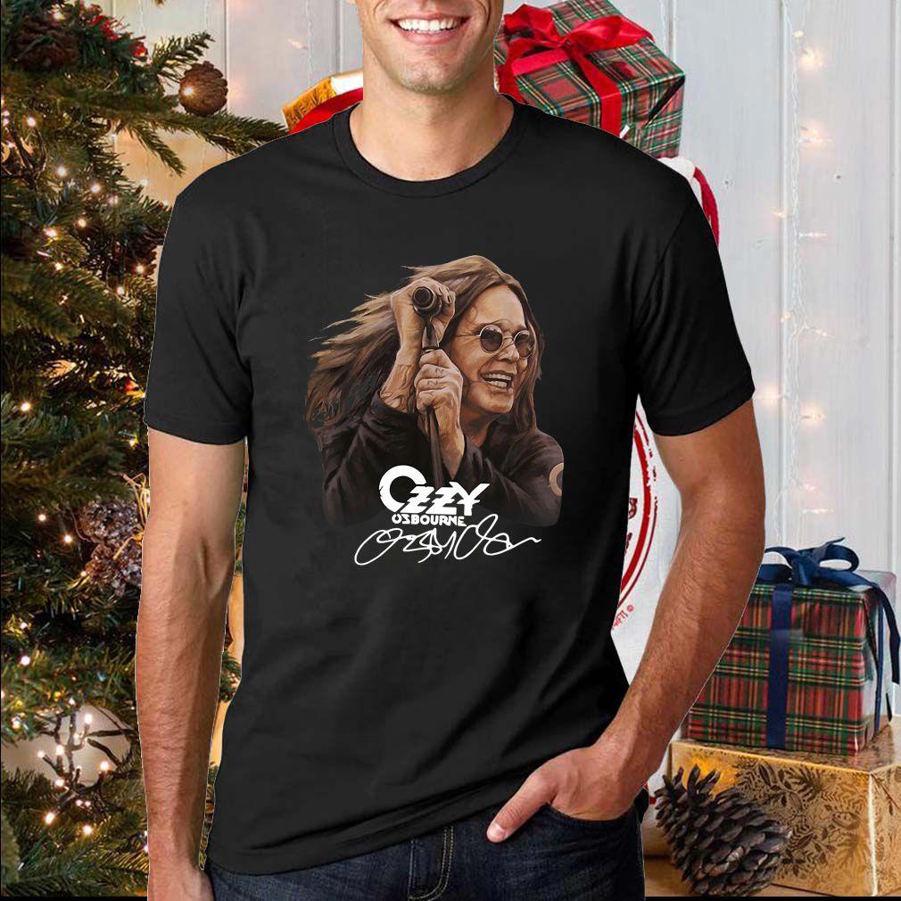 Ozzy Osbourne signature shirt